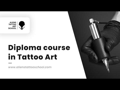 Diploma Course in Tattoo Art | Aliens Tattoo Art School | Tattoo ...