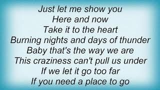 Anthony Callea - Take It To The Heart Lyrics