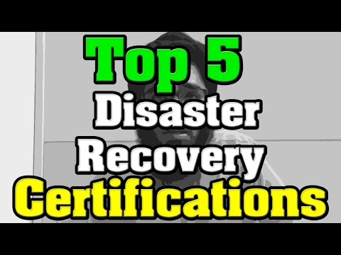 Top 5 Disaster Recovery Certifications - YouTube