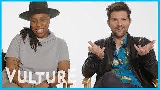Watch Lena Waithe Geek Out About Big Little Lies With Adam Scott