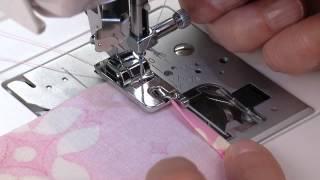 SINGER® Rolled Hem Presser Foot Tutorial