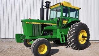 Restored 1975 John Deere 6030 Tractor Sold on Iowa Auction Yesterday