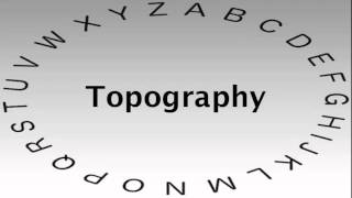 SAT Vocabulary Words and Definitions — Topography