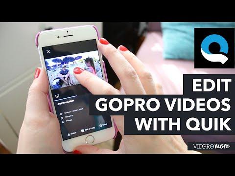 GoPro Quik App – iPhone Video Editing App