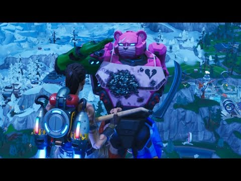 Download Live Fortnite Event Giant Mecha Robot Vs Methuselah