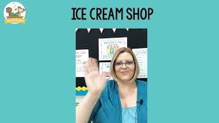 Ice Cream Dramatic Play In Preschool