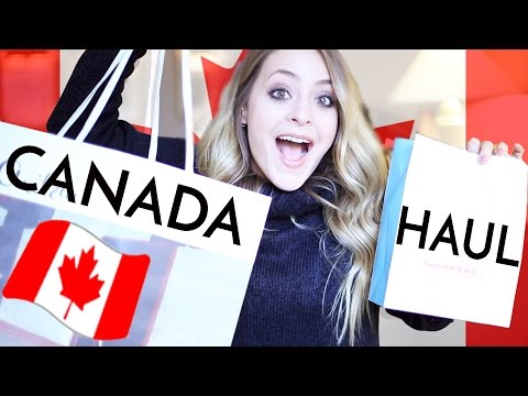 Real-Time CANADA HAUL: Beauty & Fashion! | Fleur De Force