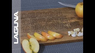 Laser Engraving a Cutting Board - Laguna Design on EC