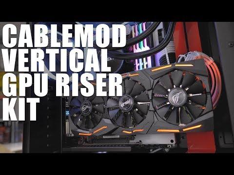 Download Vertical GPU For Everyone! CableMod Vertical PCI-e Bracket HD Mp4 3GP Video and MP3
