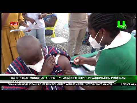 Ga Central Municipal Assembly Launches Covid-19 Vaccination Program