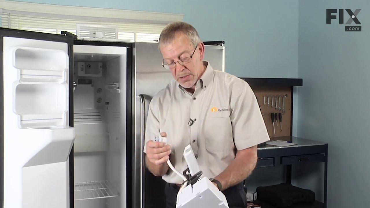 Replacing your General Electric Refrigerator Ice Maker