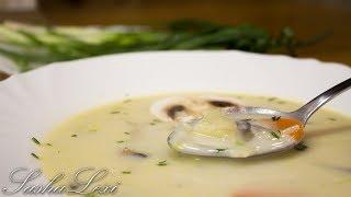 Как приготовить вкуснейший грибной суп за 15 минут! Рецепт!