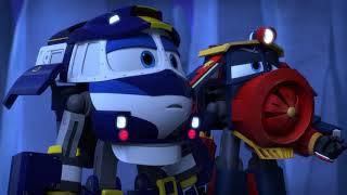 Мультфильм для детей про паровозики – Роботы поезда 🚄   все серии подряд   сборник 21 25