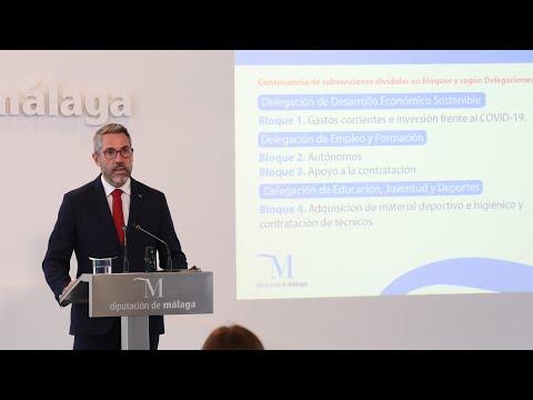 Convocatoria Pública de Ayudas del Plan Málaga para el tejido empresarial malagueño