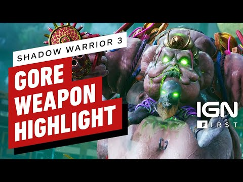 Double Trouble Gore Weapon de Shadow Warrior 3