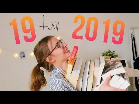 19 BÜCHER FÜR 2019! 🎉