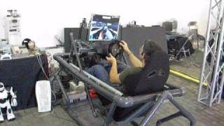 PROFESSIONAL MOTION RACING SIMULATOR - hmong video