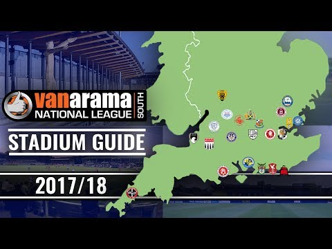 Vanarama National League SOUTH Stadiums 2017/18
