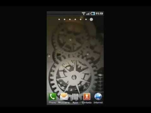 Video of Silver Time Machine LWP