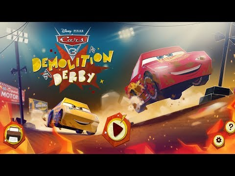 Disney Cars 3 Demolition Derby Cardboard Online Lightning McQueen Vs Cruz Ramirez