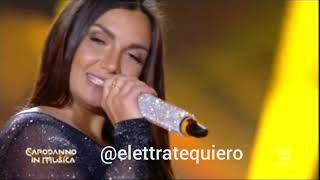 Elettra Lamborghini Su Actuación De Pem Pem En Capodanno In Musica