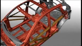 Gambar cover Mazda cx 5 skyactiv technology 9 Animations SKYACTIV Body Multiload Path Concept 22 09 11