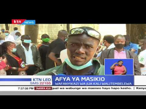 Afya Ya Maskio: WHO limeonya kuwa watu  2.5B  watakuwa na tatizo la kusikia kufikia mwaka wa 2050