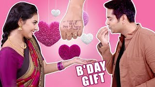 Unique & Sweet Birthday Gift for Thiru from Anandhi   Best of Naayagi