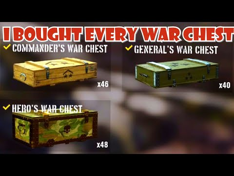 Opening every war chest in the game ||  World of Tanks Console PS4 XBOX Mercenaries