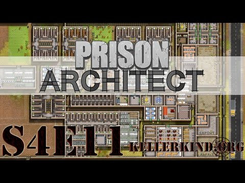 Prison Architect [HD] #054 – (K)ein schöner Tag ★ Let's Play Prison Architect
