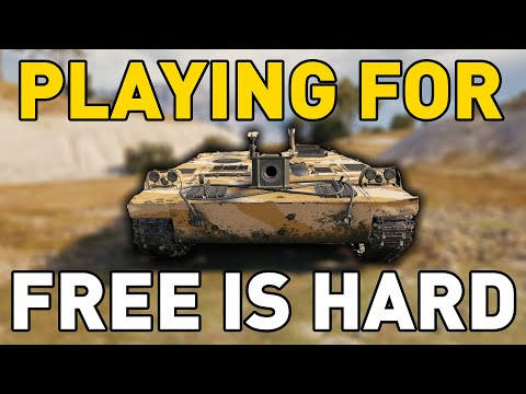 Playing for FREE is HARD in World of Tanks!