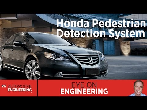 SAE Eye on Engineering: Honda Pedestrian Detection System