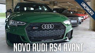 Novo Audi RS4 Avant (e todas as gerações)