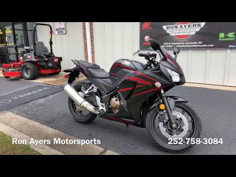 2018 Honda CBR300R in Greenville, North Carolina - Video 1
