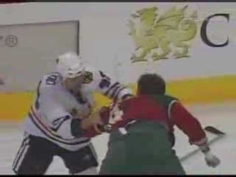Derek Boogaard vs. David Koci