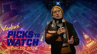 Vedius' Picks to Watch - #Worlds2020