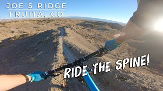 Ride the spine!