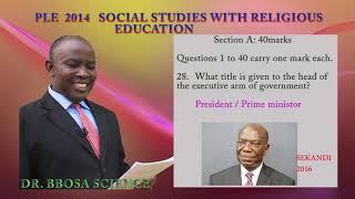 A well-illustrated revision video for PLE SST 2014.