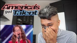 Dee React America Got Talent Mandy Harvey
