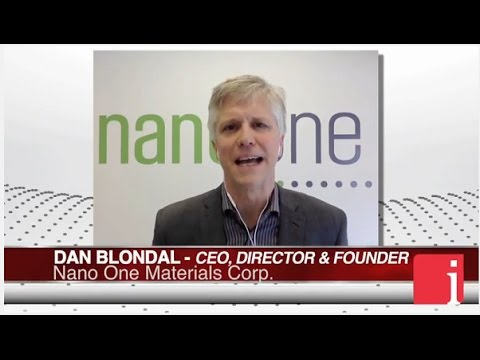 InvestorIntel Interview with Dan Blondal of Nano One Materials Corp.