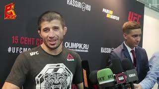 Рустам Хабилов слова после боя на UFC Moscow