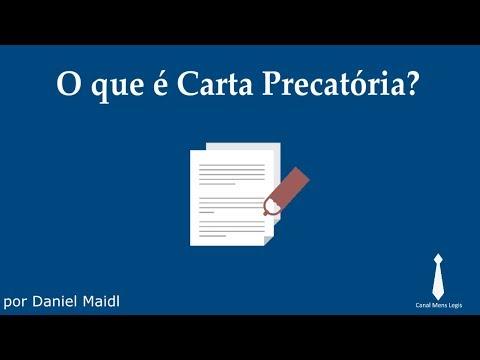O que é Carta Precatória?