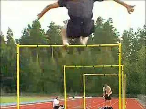 Trening najlepszego skoczka wzwyż na świecie