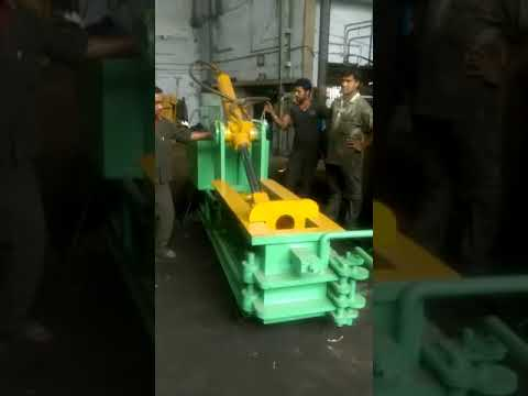 Double Action Scrap Baling Machine