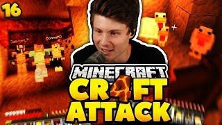 UNSER GEHEIMES VERSTECK | Minecraft Craft Attack 4 #16 | Dner