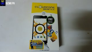 Cloudfone Excite Prime Unboxing   UPDATED 2016
