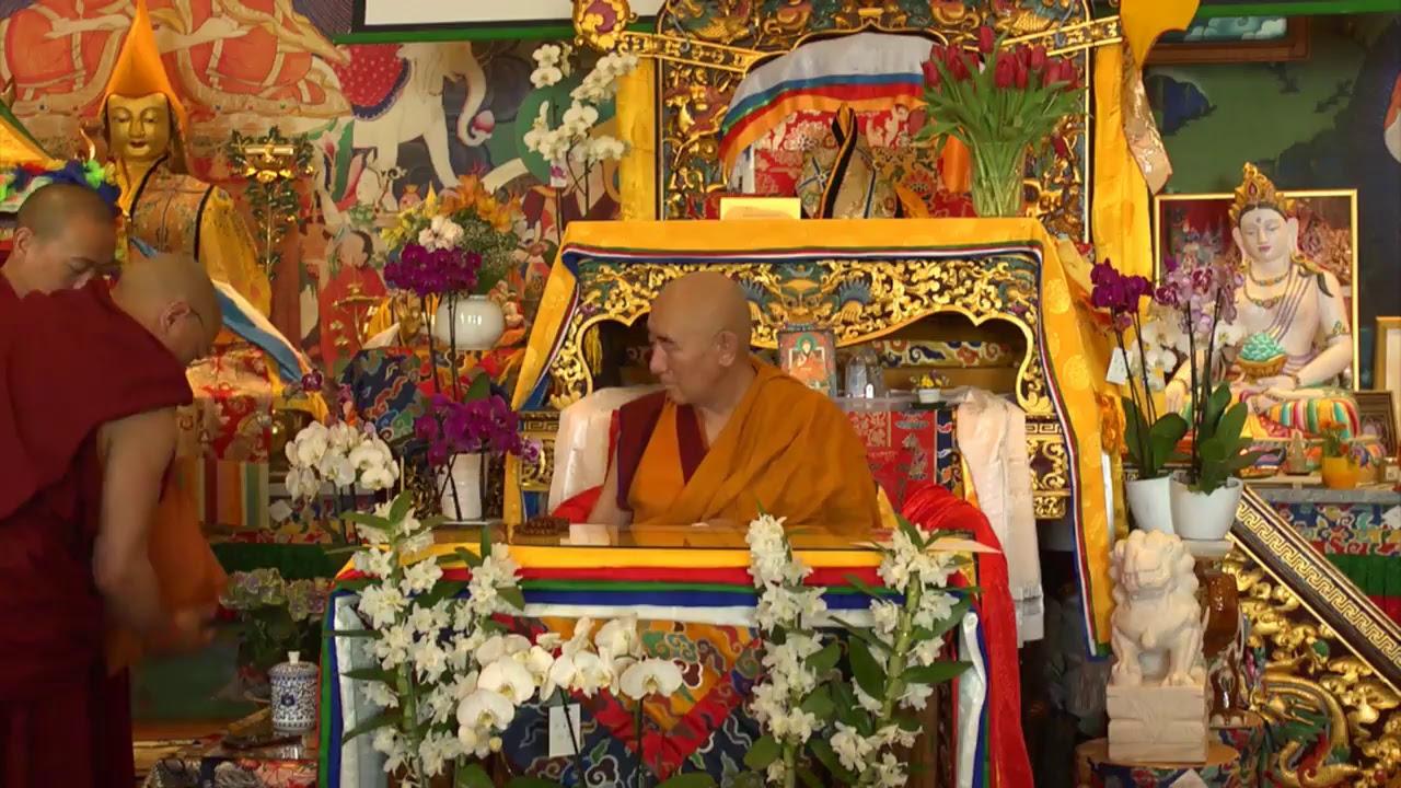 Lam Rim transmission with Lama Nyitrul Tulku Rinpoche  - part 2