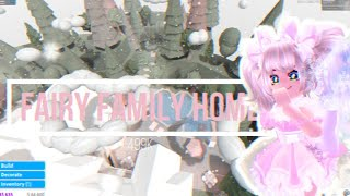 Bloxburg Speed Builds ♡ Fairy Family Home ♡ 499k ♡ First Build Of 2020!