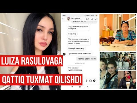 """Luiza Rasulovaga qattiq TUXMAT qilishdi! Luiza Rasulova Barno Qodirovani """"Kampir"""" deb Haqoratladi?"""