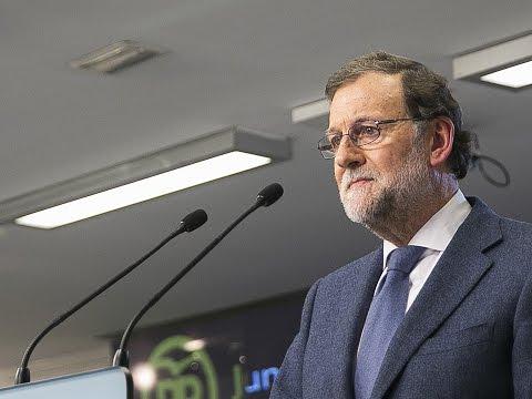 Rajoy: Voy a trabajar para formar un Gobierno estable al servicio del interés de los españoles